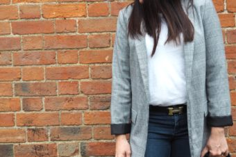 Mummy Style: The Checked Blazer