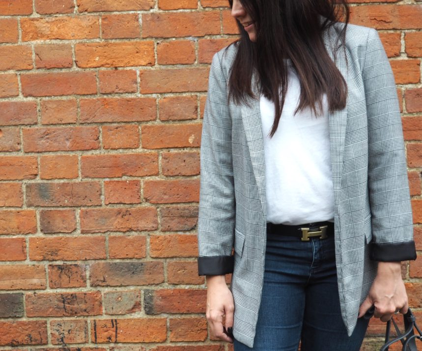Mummy Must-Have: The Check Blazer www.styleandsubstance.uk