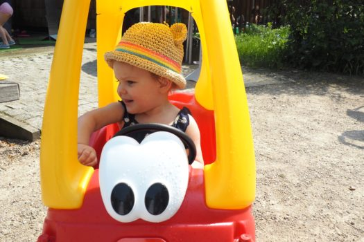Enjoying the Outdoors with Little Tikes…