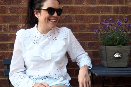 My Style: The White Broderie Blouse…