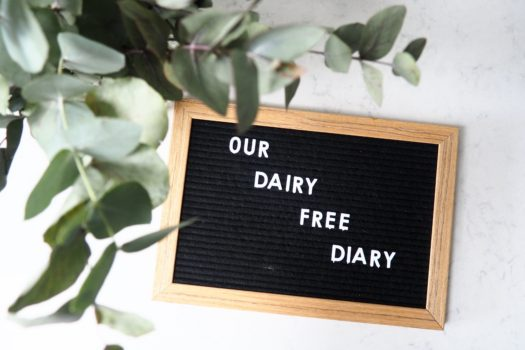 Our Dairy Free Diary…