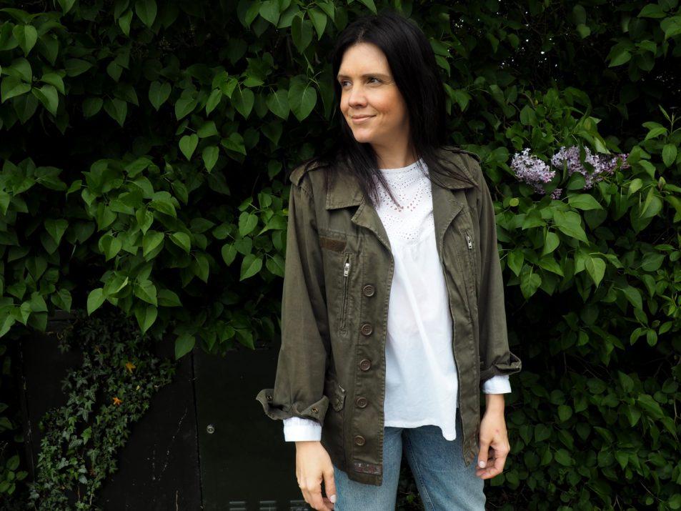 4 Ways to Wear the Kahki Shacket - www.styleandsubstance.uk